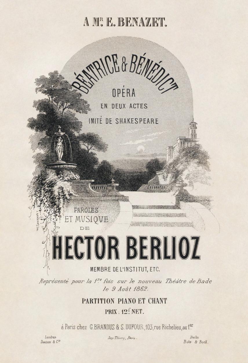 Hector_Berlioz,_Béatrice_et_Bénédict_score_title_page_-_Restoration