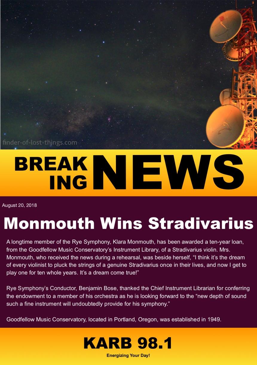 Monmouth Wins Stradivarius - KARB breaking newsjpg